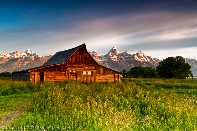 Barn Landscape Photography The Image