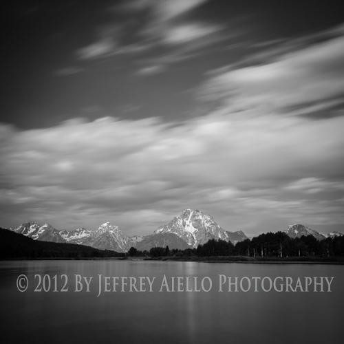 Streaking clouds over Oxbow Bend