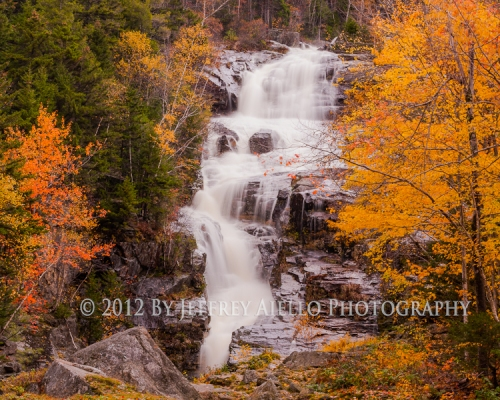 Silver Cascades Waterfall, Crawford Notch State Park